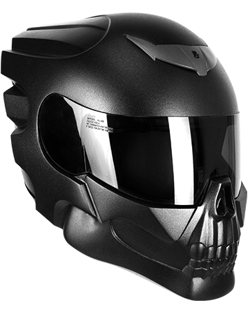 Amazoncom skull motorcycle helmet